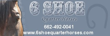 click here to visit 6 Shoe Quarter Horses