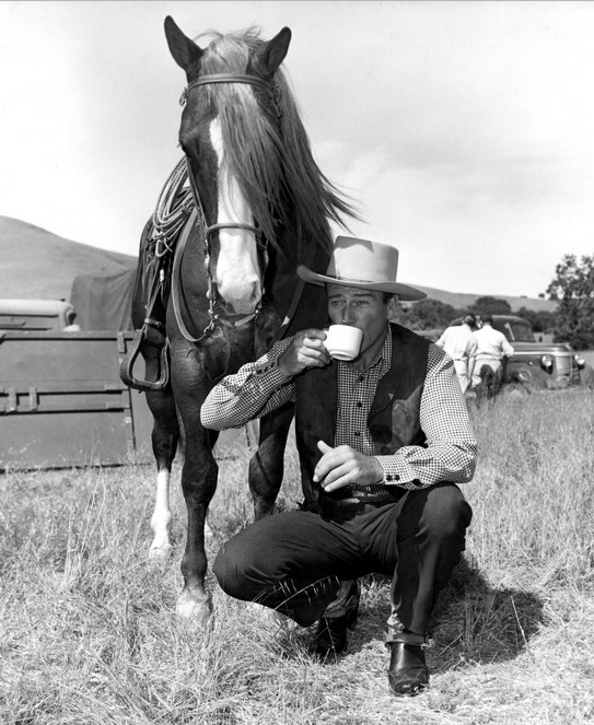 "John Wayne ""Tall in the Saddle"""