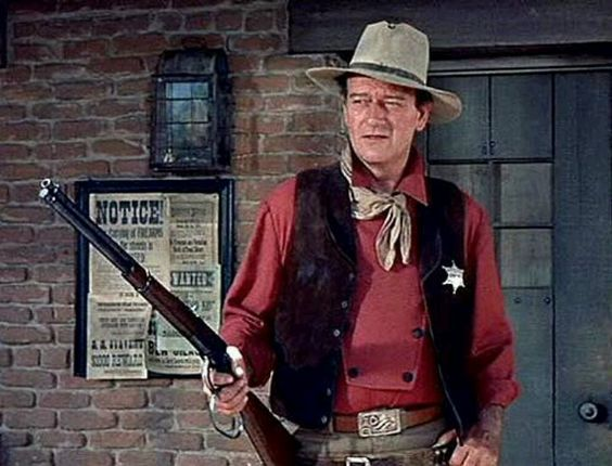 "John Wayne: ""Get off your horse, and drink your milk."""